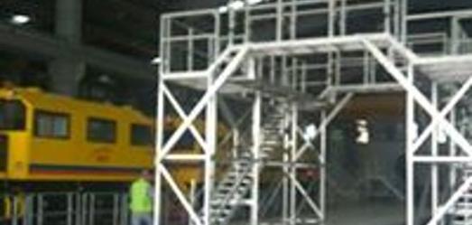 Aluminium Service Structure for Malaysia MRT